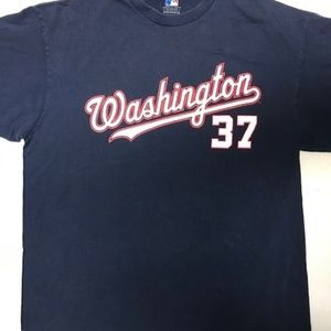 Washington Nationals 37 Strasburg Tee